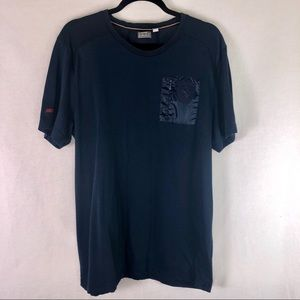 Puma | Ferrari Pocket T-Shirt Navy Blue Size XL